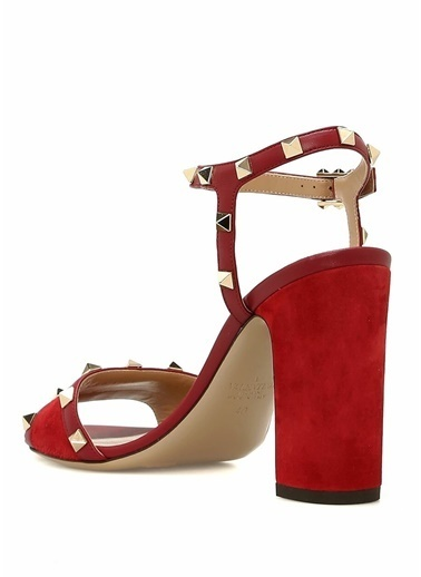 Valentino Sandalet Kırmızı